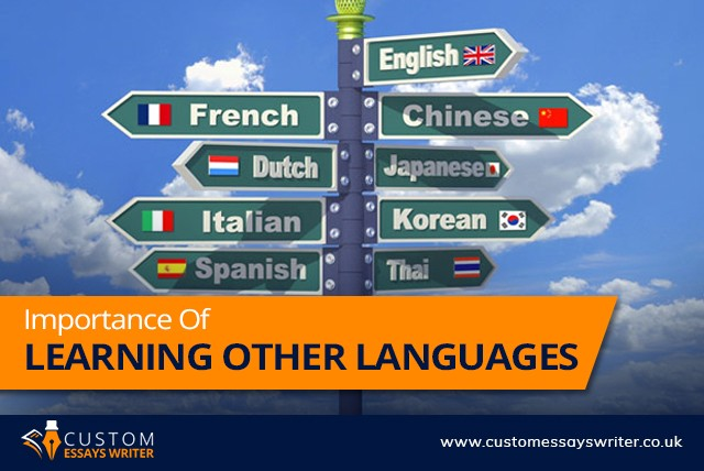 Importance Of Learning Other Languages