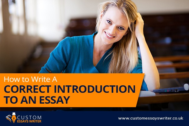 How to Write a Correct Introduction to an Essay