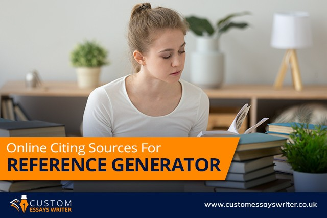 Online Citing Sources for Reference Generator