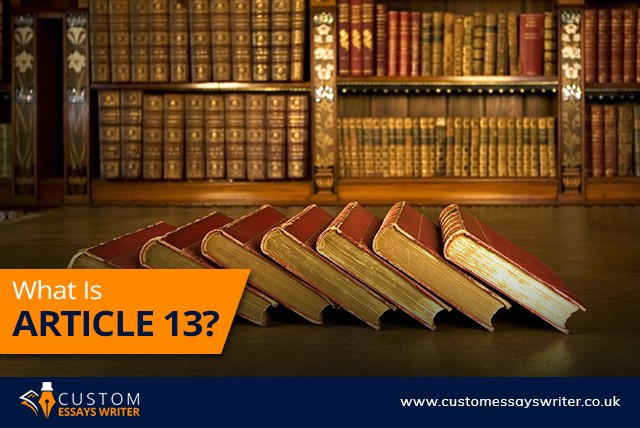 What Is Article 13?