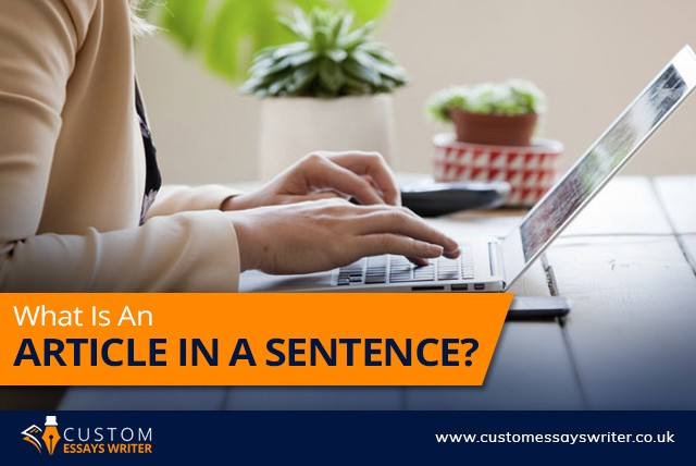 What Is An Article In A Sentence?