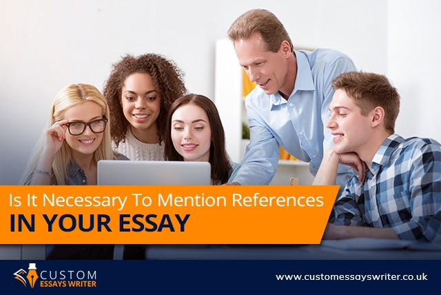 References In Your Essay