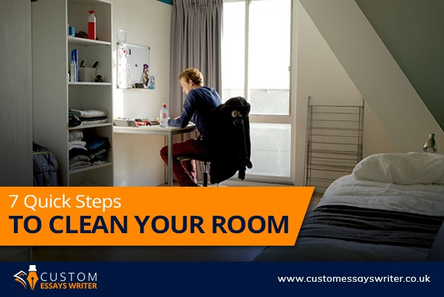 7 Quick Steps to Clean Your Room